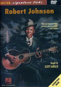 Robert Johnson Guitar Signature Licks Series