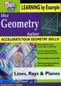 Geometry Tutor: Lines, Rays and Planes