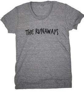 The Runaways Handwritten Track Tee