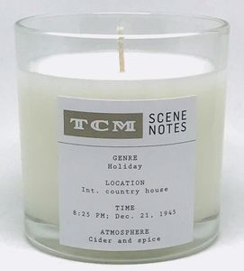 TCM Scene Notes Candle: Cider and Spice