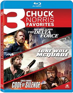3 Chuck Norris Favorites: The Delta Force /  Lone Wolf McQuade /  Code of Silence