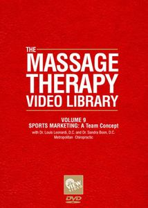 Massage Therapy Video Library - Sports Marketing: Team Concept: Volume 9