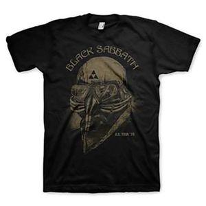 Black Sabbath US Tour 78 (Mens /  Unisex Adult T-Shirt) Black, US [Medium], Front Print Only