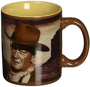 John Wayne A Man's Got To Do... 12 Ounce Ceramic Mug