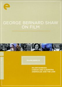 George Bernard Shaw (Criterion Collection: Criterion Collection - Eclipse Series 20)
