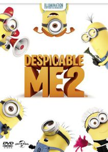 Despicable Me 2 (DVD+UV) [Import]