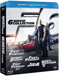Fast & Furious : The 6-Movie Collection [Import]