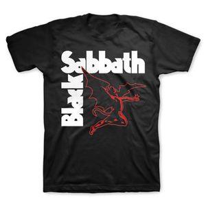 Black Sabbath Creature (Mens /  Unisex Adult T-Shirt) Black, SS [XL] Front Print Only