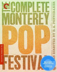 Criterion Collection: Complete Monterey Pop Festival [Full Frame]