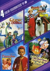 4 Film Favorites: Family Movie Night Collection