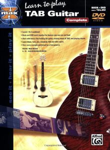 Alfred's Max Tab Guitar Complete