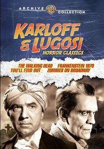 Karloff And Lugosi Horror Classics , Boris Karloff