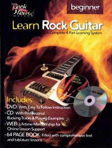 Learn Rock Guitar Beginner: Learn Rock Guitar