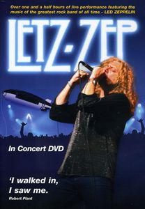 Letz Zep in Concert DVD [Import]
