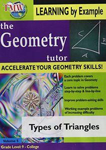 Geometry Tutor: Types of Triangles