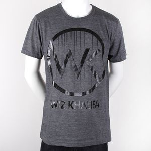WK Logo Drip Slim Fit T-Shirt (Heather)