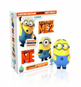Despicable Me 1 & 2 (2DVD+UV) [Import]