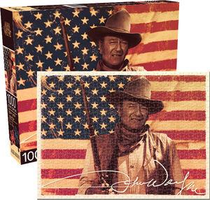 John Wayne Flag 1000 PC Jigsaw Puzzle