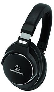 Audio Technica ATH-MSR7NCBK High-Resolution Headphones with Active Noise Cancellation Black