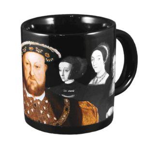 Henry VIII Disappearing Wives 10 Oz Coffee Mug