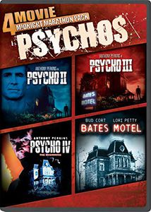 4 Movie Midnight Marathon Pack: Psychos