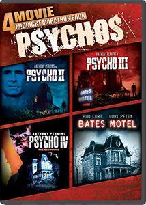 4 Movie Midnight Marathon Pack: Psychos