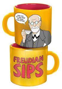 Freudian Sips 10 Oz Coffee Mug