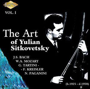 Art of Yulian Sitkovetsky 1