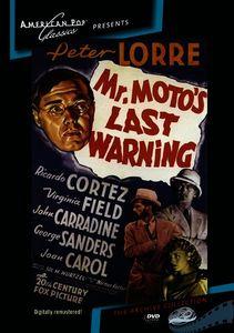 Mr Moto's Last Warning