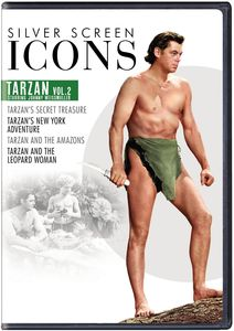 Silver Screen Icons: Tarzan Starring Johnny Weissmuller Volume 2