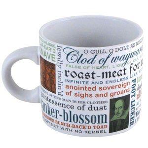 Shakespeare Insults 12 Oz Coffee Mug