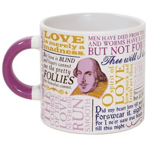 Shakespearean Love 12 Oz Coffee Mug