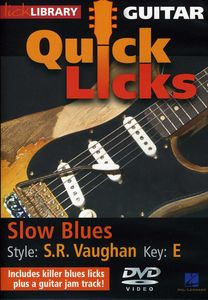 Quick Licks: Stevie Ray Vaughan Slow Blues - Key: E
