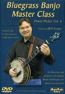 Power Pickin Vol. 4 DVD Bluegrass Banjo Master Cla