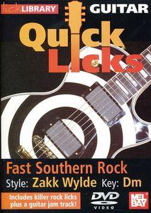 Quick Licks: Zakk Wylde Fast Southern Rock - Key: Dm