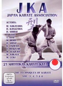 Jka Japan Karate Association-21 Shotokan Kata [Import]