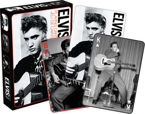 Elvis Presley - Black and White Playing Cards Deck