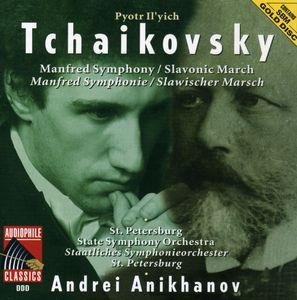 Tchaikovsky: Manfred Sym /  Slavonic March