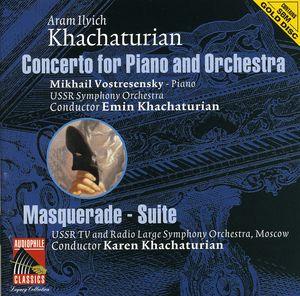 Khachaturian: Cto for Pno & Orch /  Masquerade Ste