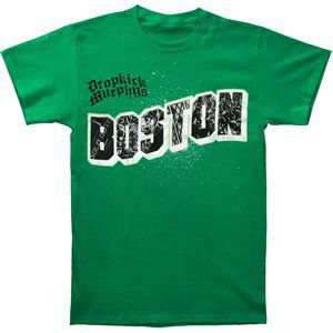 Boston Mens T-Shirt Kelly Green - S