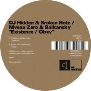 Existence /  Obey , Broken Note