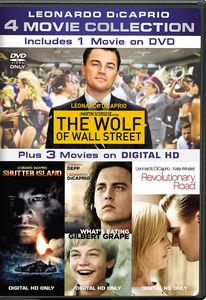 Leonardo Dicaprio 4-Movie Collection