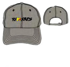 Yo! MTV Raps Logo Khaki Adjustable Baseball Cap