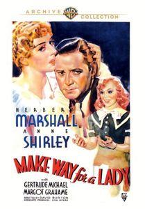 Make Way for a Lady , Herbert Marshall