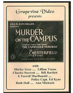 Murder on the Campus (1933)