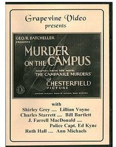 Murder on the Campus (1933)