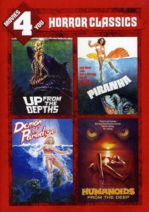 Roger Corman Horror Classics 4 Pac