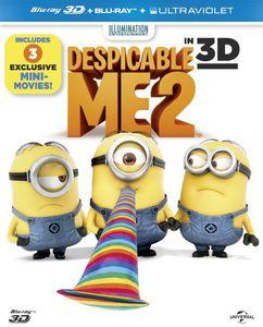 Despicable Me 2 (3D+2D+Uv) [Import]