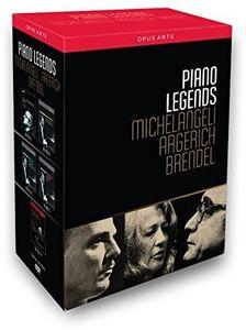 Piano Legends - Michelangeli Argerich & Brendel
