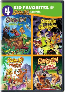 4 Kid Favorites: Scooby-Doo! Monsters